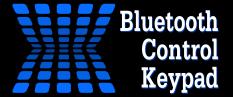 Bluetooth Control Keypad